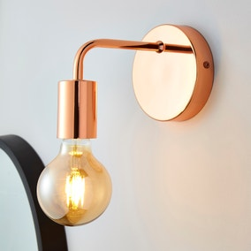 Adonis Copper Wall Light