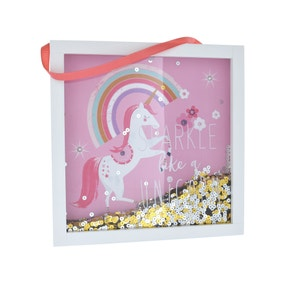 Unicorn Sequin Frame