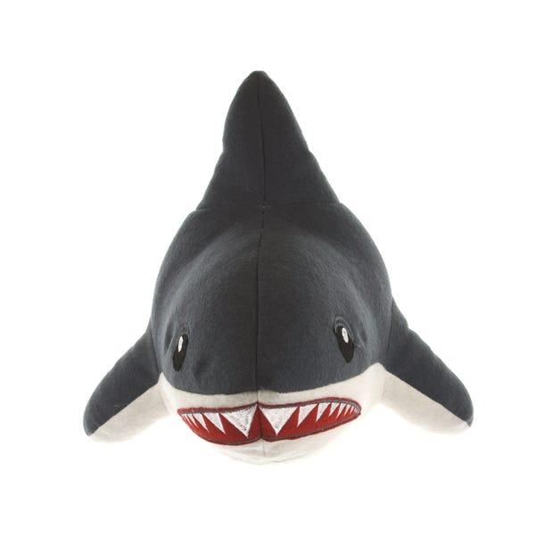Shark 3D Head Grey