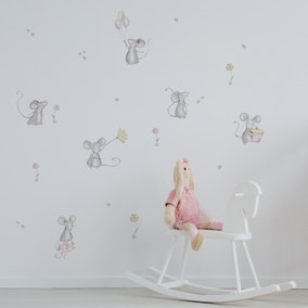 Daisy Mouse Wall Stickers