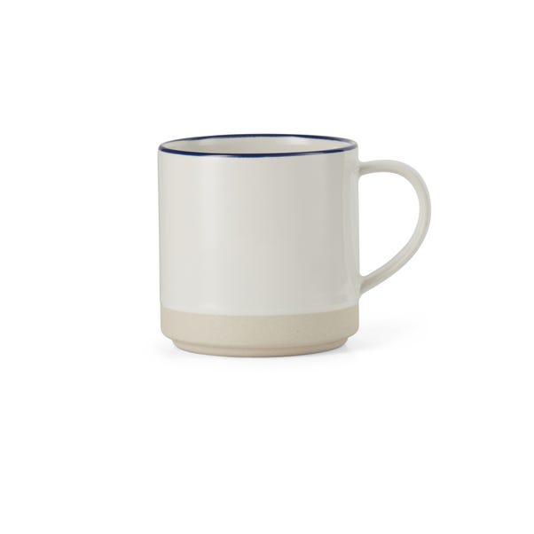 Apartment Navy Rim Mug Navy