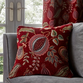 Edina Red Cushion
