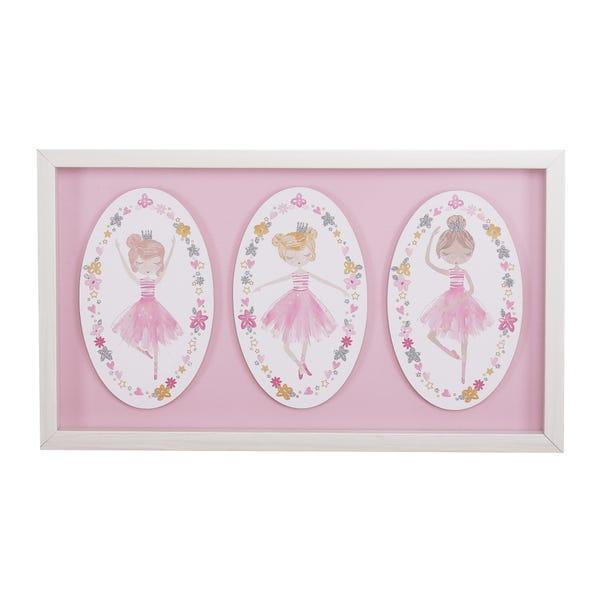 Ballet Wall Art Pink
