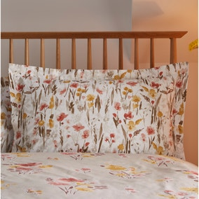 Amber Natural Oxford Pillowcase