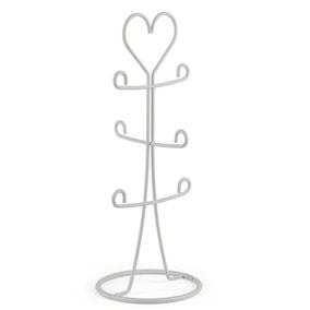 Wire Heart Mug Tree