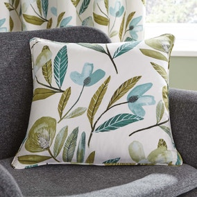 Modern Botanical Green Cushion