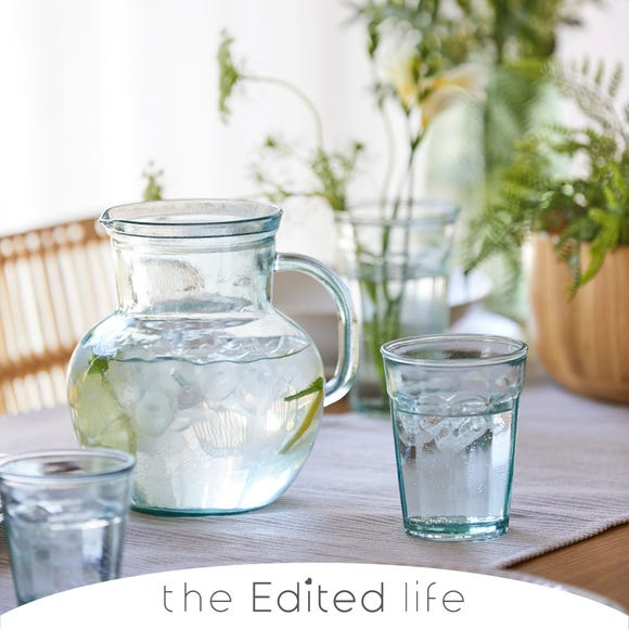 Recycled Glass Large Tumbler Clear