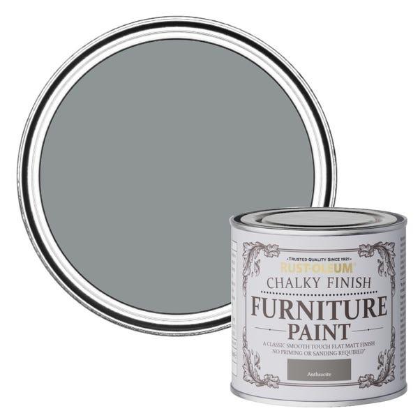 Rust-Oleum Anthracite Matt Furniture Paint  undefined