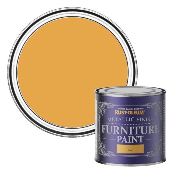 Rust-Oleum Gold Metallic Furniture Paint 125ml