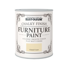 Rust-Oleum Clotted Cream Matt Furniture Paint