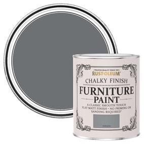 Rust-Oleum Anthracite Matt Furniture Paint