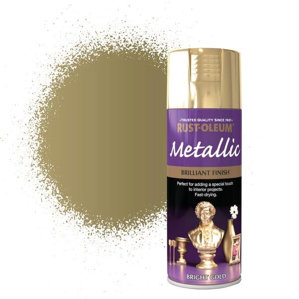Rust-Oleum Bright Gold Metallic Spray Paint