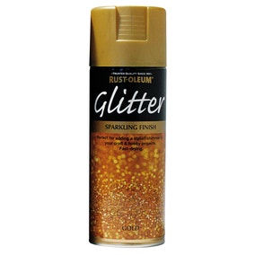 Rust-Oleum Gold Glitter Spray Paint