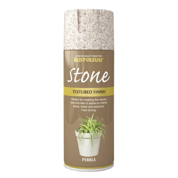 Rust-Oleum Natural Effects Stone Pebble Spray Paint Stone undefined