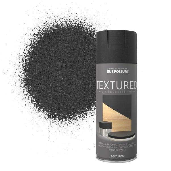 Rust-Oleum Aged Iron Textured Spray Paint Grey undefined
