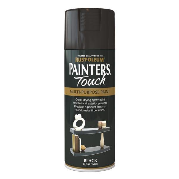 Rust-Oleum Painters Touch Gloss Black Spray Paint