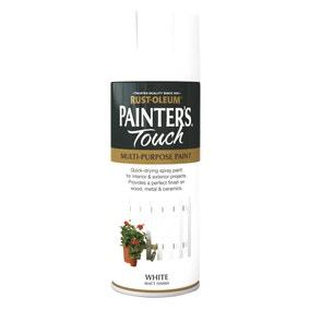 Rust-Oleum Painters Touch Matt White Spray Paint