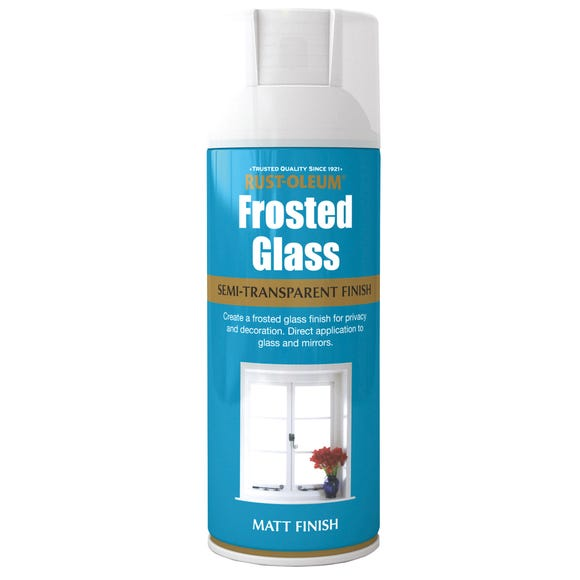 Rust-Oleum Frosted Glass Spray Paint Clear undefined