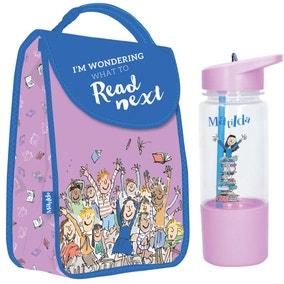 Roald Dahl Matilda Lunch Bag and Water Bottle