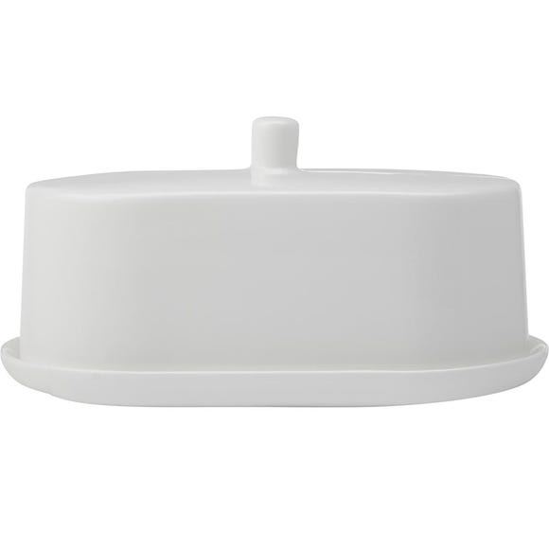 Maxwell & Williams Cashmere Butter Dish White