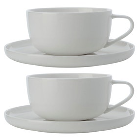 Maxwell & Williams Cashmere Set Of 2 300ml Cup and Saucers