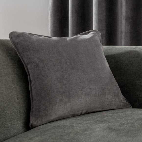 Margot Charcoal Cushion Charcoal