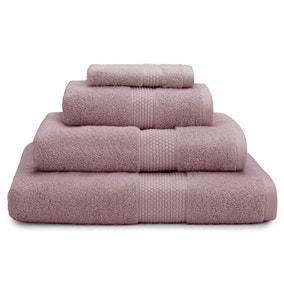 Dorma Silk Blend Heather Towel
