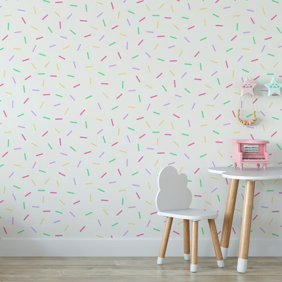 Confetti Wallpaper MultiColoured