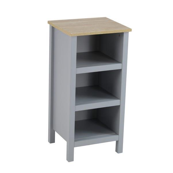 Amalfi Grey 3 Tier Shelf Unit