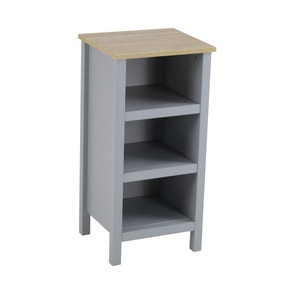 Amalfi Grey 3 Tier Shelf Unit
