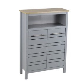 Amalfi Grey Console Unit