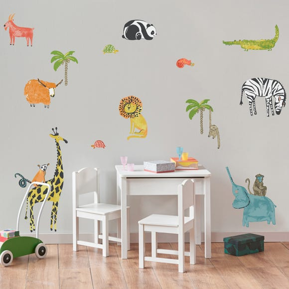 My World Wall Stickers MultiColoured