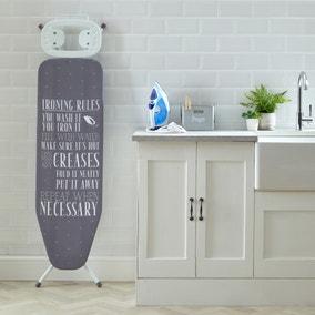 Laundry Rules Ironing Board