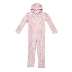 Teddy Bear Blush Pink Onesie