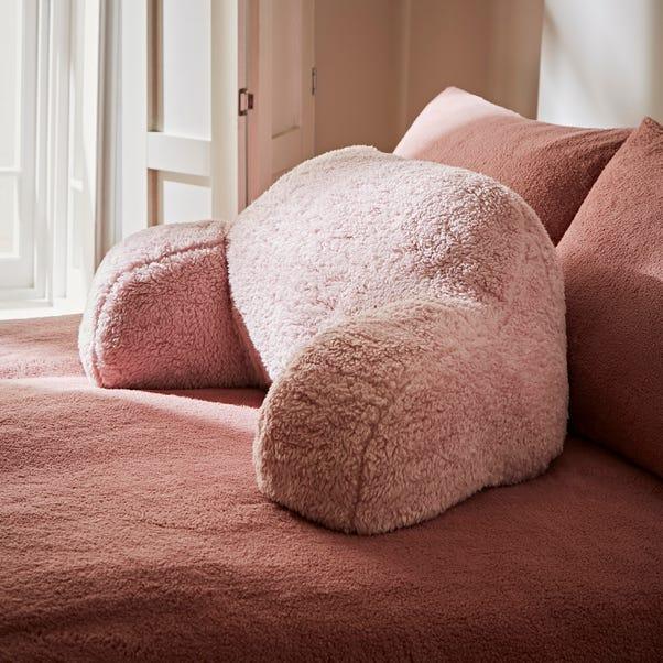 Teddy Bear Blush Cuddle Cushion Blush