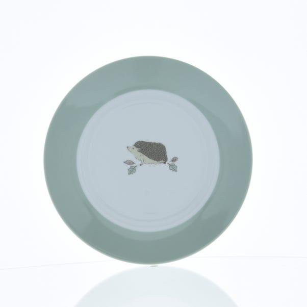 Hedgehog Side Plate Brown