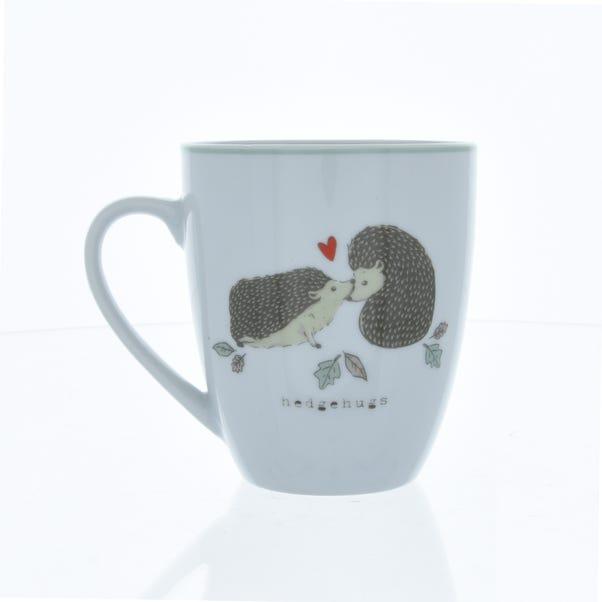 Hedgehog Mug Brown