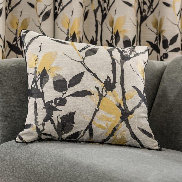 Zen Jacquard Cushion Gold