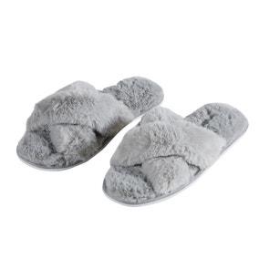 Grey Cross Sliders