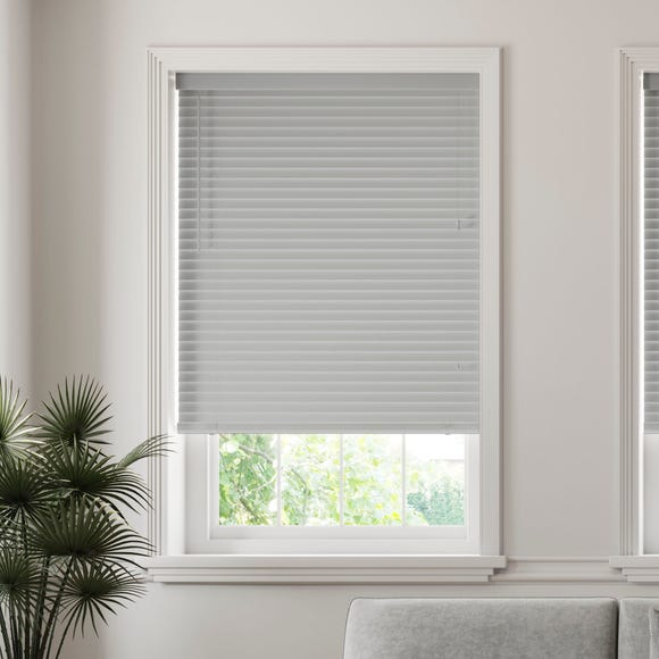 50mm Slats Room Darkening Grey Venetian Blind Grey undefined