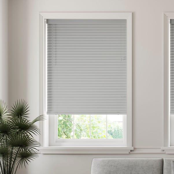 50mm Slats Room Darkening Grey Venetian Blind  undefined