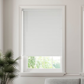 50mm Slats Room Darkening White Venetian Blind