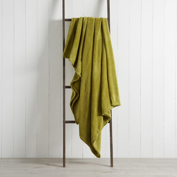 Seriously Soft 220cm x 220cm Throw Seriously Soft Olive