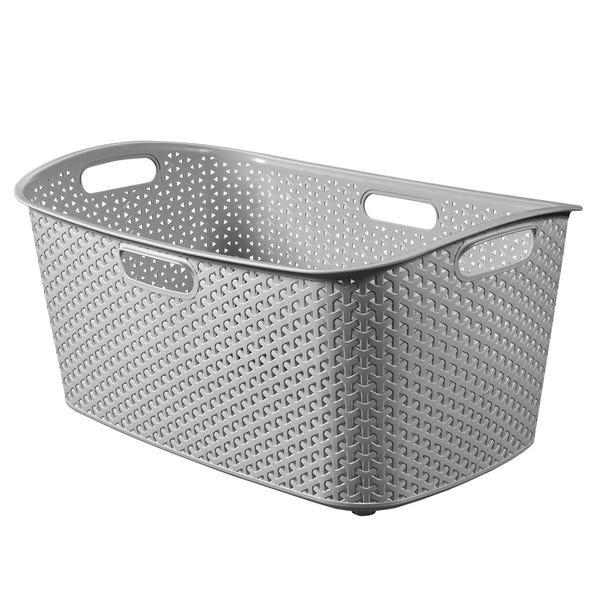 Curver My Style Grey 50 Litre Laundry Basket Grey