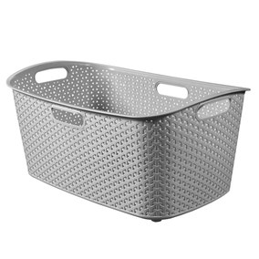 Curver My Style Grey 50 Litre Laundry Basket
