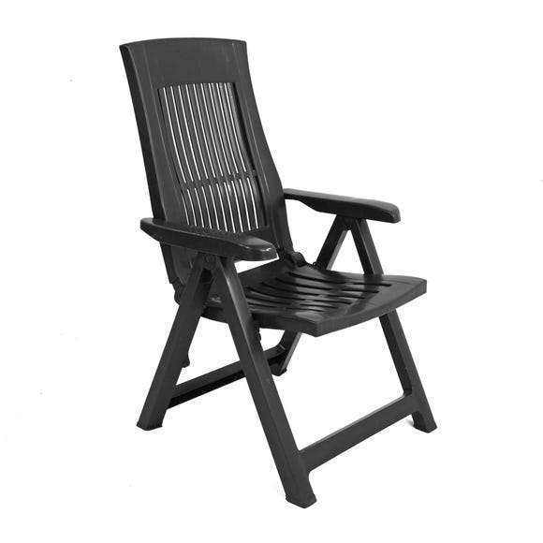Trabella Palermo Recliner Chair Grey