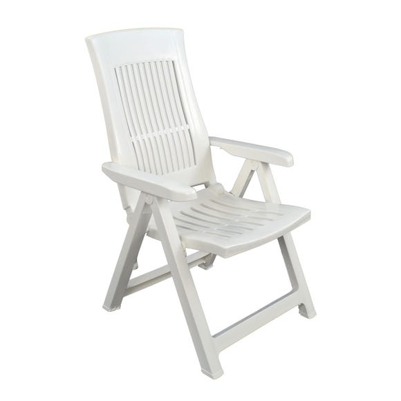 Trabella Palermo Recliner Chair White
