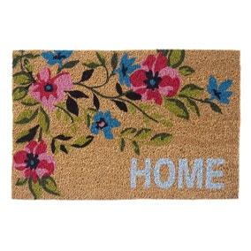 Floral Home Doormat