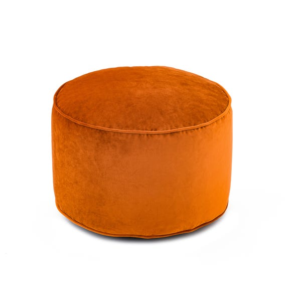 Isla Pouffe - Orange