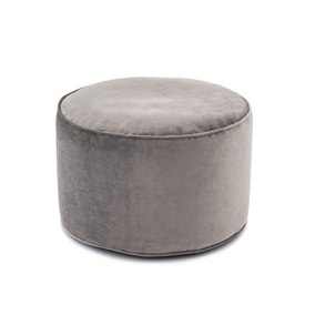 Isla Pouffe - Light Grey